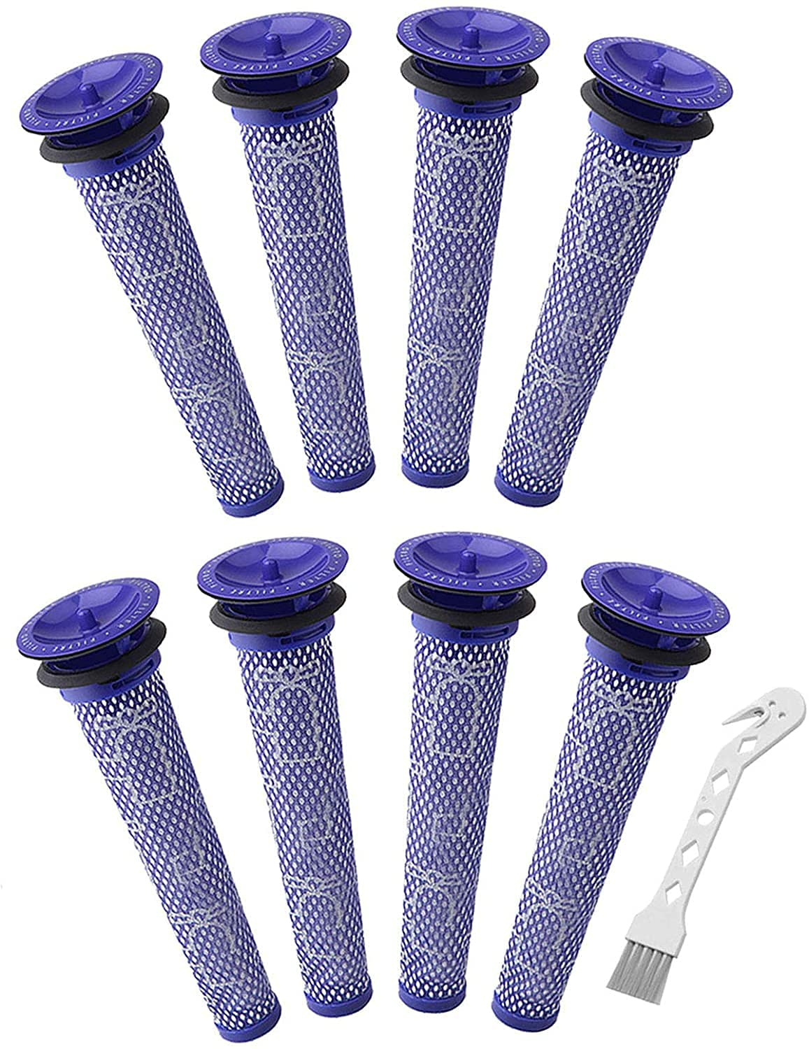 Colorfullife 8 + 1 Pack Replacement Pre Motor Filter for Dyson